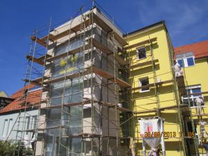 Slikopleskarstvo Berdnik-izdelava fasad na poslovnih prostorih