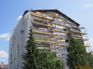 Slikopleskarstvo Berdnik-izdelava fasad na stanovasnkih blokih