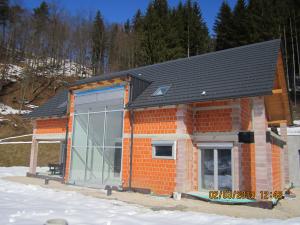 Slikopleskarstvo Berdnik-izdelava fasade pozimi