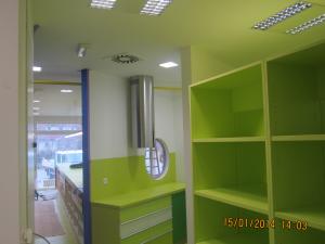 Slikopleskarstvo Berdnik-pleskanje poslovnih prostorov